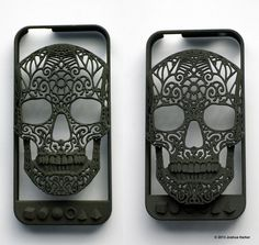 1bcff4f5df Skull iPhone Case Crania Revolutis 4 4s & 5 by shhark on Etsy Skull And