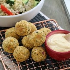 Healthy Oven Baked Falafel Balls - Thermomix Method