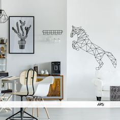 (3798n) #Nálepka na stenu - #Kôň #horse #artsablony