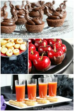 """Fun and easy food ideas for a Disney Villains party to celebrate the premiere of The Disney Channel's """"Descendants"""". #Disney #VillainDescendants #ad"""