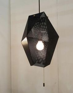 Mathieu lantern #perforated #suspended #cafelighting