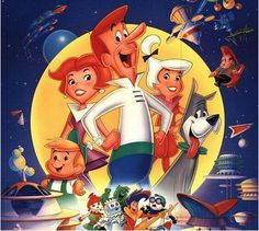 The Jetsons, the animated series created by Hanna-Barbera in 1962
