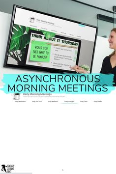 If you are teaching remotely or hybrid and are looking for an asynchronous way to deliver your morning meeting messages to your class, then dailymorningmeetings.com is an ideal solution. Every weekday, a new morning message will appear and there is no prep work involved. There are 6 different themes to choose from each day if you want to mix it up with your students, but the Daily Motivation is always free if you want to start your day with an inspirational quote and prompt! School Resources, Teacher Resources, Daily Fun Facts, Daily Jokes, Secondary Teacher, Technology Integration, Daily Thoughts, Time Activities