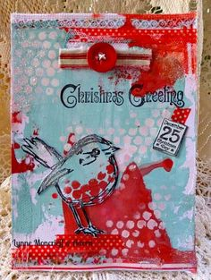 That's Blogging Crafty!: Mr Robin Comes Hop, Hopping Along by Lynne Moncrie...