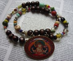 """""""Now and Zen Necklace"""" by The Gypsy Bead"""