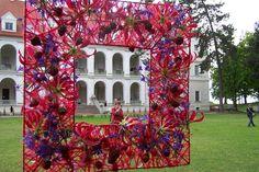 """.Gėlių meno kursai """"OBJEKTAI""""  Kursus vedė meistrė- floristė Natalja Učvatova"""