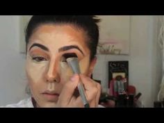 Anastasia Beverly Hills Before and After Contour Contest-Full Version Gorgeous Makeup, Love Makeup, Simple Makeup, Makeup Tips, Makeup Ideas, Contour Brush, Contour Makeup, Contouring And Highlighting, Before And After Contouring