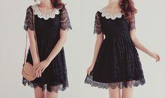 cute baby doll goth dress