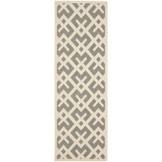 @Overstock - Perfect for any backyard, patio, deck or along the pool, this rug is great for outdoor use as well as any indoor use that requires an easy to maintain rug.http://www.overstock.com/Home-Garden/Safavieh-Grey-Bone-Indoor-Outdoor-Rug-22-x-14/7358568/product.html?CID=214117 $66.29