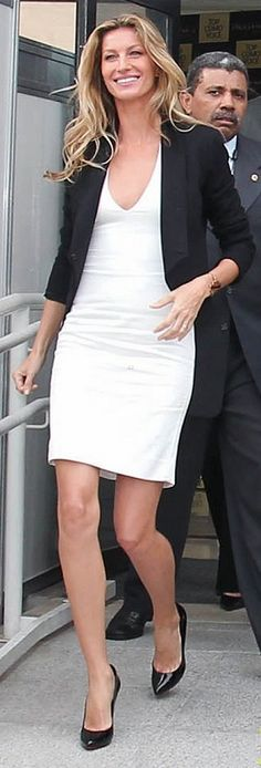 Celebrity Fashion. Gisele.