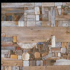 My absolute favorite piece of Art ever!!    Title: Collage IX: Landscape  Artist: George Morrison  Date: 1974  Institution: Minneapolis Institute of Arts  Rights: Estate of George Morrison