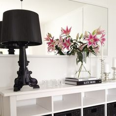 Black | Bourgie lamp by ferruccio Laviani | via Instagram - thanks to @janinas_home
