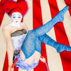 A dream state. #Vaudeville continued. #burlesque #stockings #steampunk #legging #hoopdance #poledance #circus  #winterwedding
