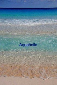 Drawn to the surf and sand- Aquaholic Ocean Quotes, Beach Quotes, Beach Vibes, Summer Vibes, Beach Bum, Ocean Beach, Summer Beach, Beach Bodys, I Love The Beach