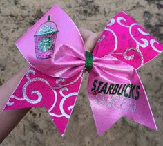 Cute starbucks bow