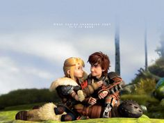 Hiccup's growing up