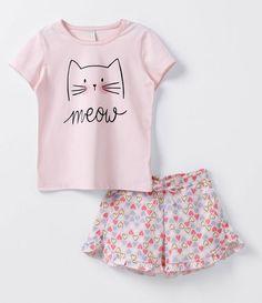4160e34939 Anziehen, Süße Pyjamas, Niedlicher Schlafanzug, Schlafanzug, Negligé,  Mädchen Outfits, Kinder
