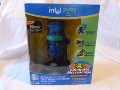 Intel Play QX3 Computer Microscope CD ROM | eBay