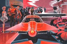 1961 Ford Gyron Concept Car