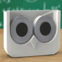 Owl Tape Douple Tape Dispenser  #cool #gift #sale #birthday #stocking #gifts #santa #quirky #xmas #mzube