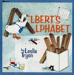 Albert's Alphabet--this book gets cooler with every reading!