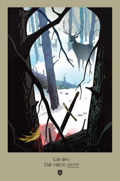 Mais uma temporada de Game of Thrones chegou ao fim e agora temos uma série de ilustrações por Robert M. Ball, inspiradas nas mortes dos personagens ao longo do quinto ano da série. Confira! Se ainda não está óbvio pelo título, a galeria contém alguns spoilers, então volte depois que ver a temporada.  Recapitulando, …