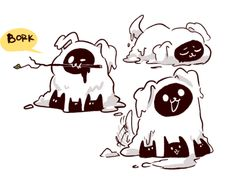 Undertale LittleTale Dogs Amalgamate