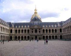 Les Invalides in Paris, France.