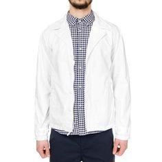 Engineered Garments M-41 Jacket - Washer Twill White