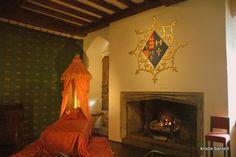 Leeds Castle, Part II Restored room of Katherine of Aragon