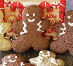 Πεντανόστιμα χριστουγεννιάτικα μπισκότα! Xmas Food, Christmas Sweets, Christmas Baking, Christmas Cookies, Christmas Art, Christmas Recipes, Greek Desserts, Greek Recipes, Food N