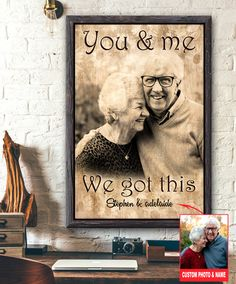 Canvas Poster, Custom Posters, Custom Photo, Canvas Material, 5 Years, Custom Homes, You And I, Cotton Canvas
