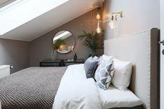 Small attic bedroom