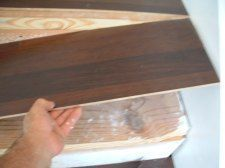 This Is The Laminate Flooring Iu0027m Installing On This Stair Tread