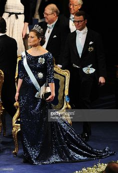 Crown Princess Victoria of Sweden attends the Nobel Prize Award Ceremony at Stockholm Concert Hall on December 10, 2011 in Stockholm, Sweden.  (Photo by Pascal Le Segretain/Getty Images)