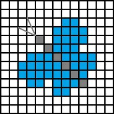 DIY Cross-Stitched Card - Picture of Simple Cross-Stitch Patterns Tiny Cross Stitch, Easy Cross Stitch Patterns, Butterfly Cross Stitch, Cross Stitch For Kids, Cross Stitch Cards, Cross Stitch Designs, Cross Stitching, Cross Stitch Embroidery, Hand Embroidery