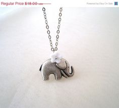Lovely Elephant Necklace