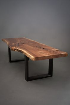 natural wood coffee table plans