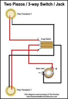 Advanced Piezo Wiring Diagram