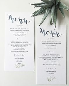 Harvest Flowers Wedding Dinner Menu  Wedding Dinner Menu Wedding