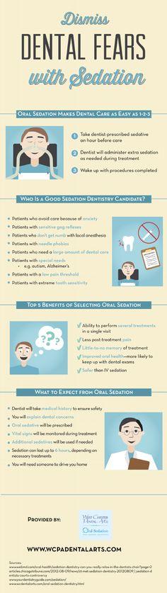 Dismiss Dental Fears with Sedation
