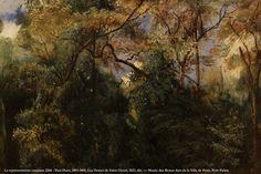 - Paul Huet, 1803-1869, Les Ormes de Saint-Cloud, 1823, dét. — Musée des Beaux-Arts de la Ville de Paris, Petit Palais
