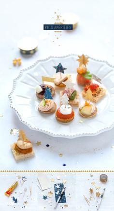 cute food decoration idea #kerstdiner #kinderen