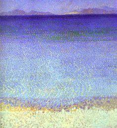 Henri-Edmond Cross est mort le 16 mai 1910, il y a 103 ans aujourd'hui. Pour commémorer cet anniversaire, je vous propose d'admirer une de ses œuvres, Les îles d'Or (1891-1892, musée d'Orsay) dont …