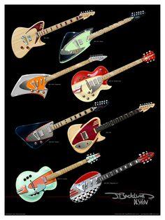 Retronix Guitar Project - by J. Backlund Design Guitars by J. Backlund Design Guitars — Kickstarter
