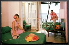 Pictures from the Heyday of Hawaiian Hotel Rooms