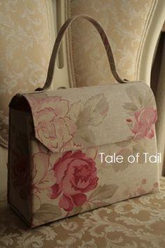 ** Tale of Tail **カルトナージュ布箱のお店 長崎の教室 カルトナージュ・タッセル・デコール・ポーセラーツ