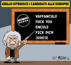 ITALIAN COMICS - Il Bon ton dei Cinquestelle al Parlamento europeo…
