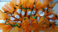 AMIS Doces: Cenourinhas de cone trufado