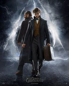 Jude Law and Eddie Redmayne in Fantastic Beasts: The Crimes of Grindelwald (2018)